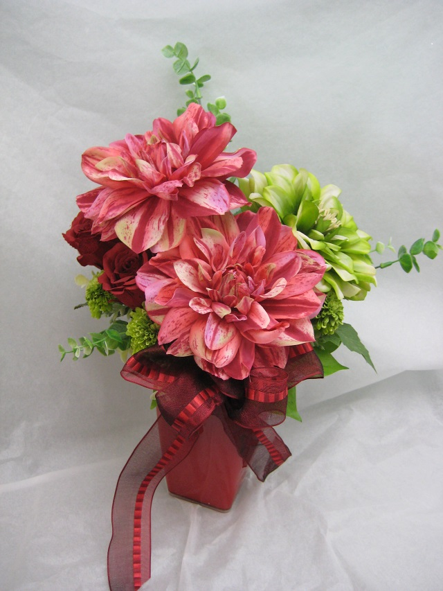 ギフト用造花アレンジメント(g-a002)
